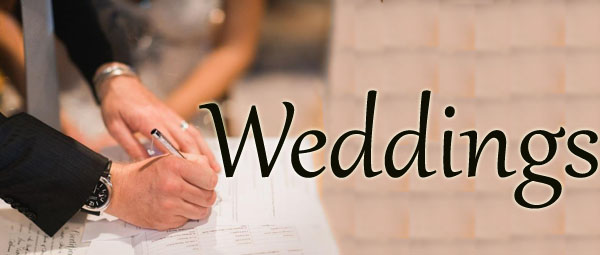 For information on weddings at St Peter's please contact us by phone or email