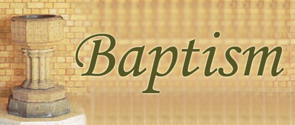 For information on baptisms at St Peter's please contact us by phone or email