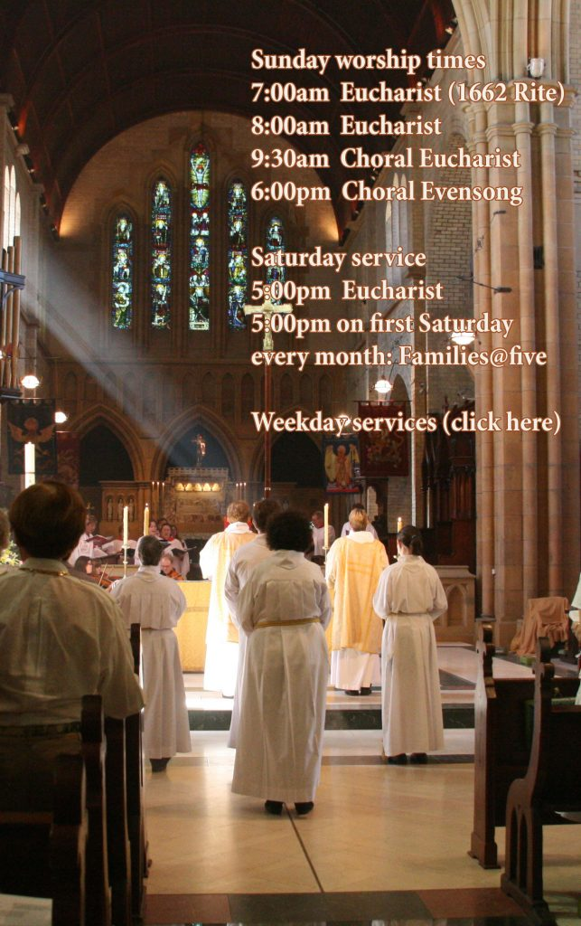 Cathedral service times